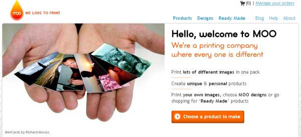 Moo-cards-customization