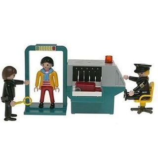 Playmobil security checkpoint