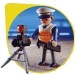 Playmobil radar cop