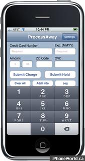 Processaway-iphone-app-credit-card-processing
