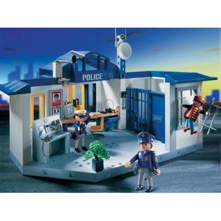 Playmobil jail cell