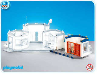 Playmobil prison cell extension