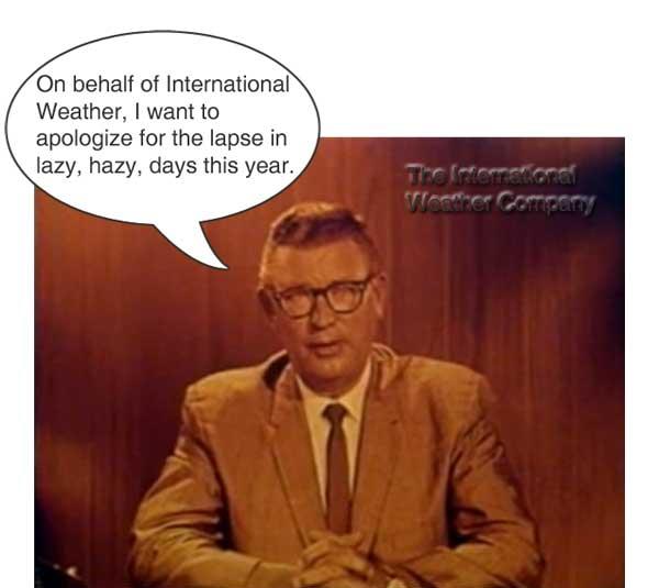 Weather-apology