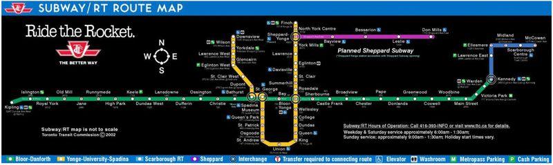 TTC-route-map