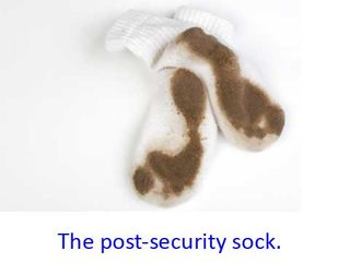 Post-security-sock