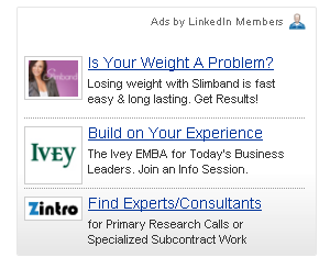 Linked-in-advertising