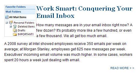Conquering-e-mail