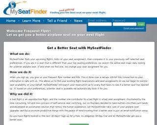 My-seat-finder