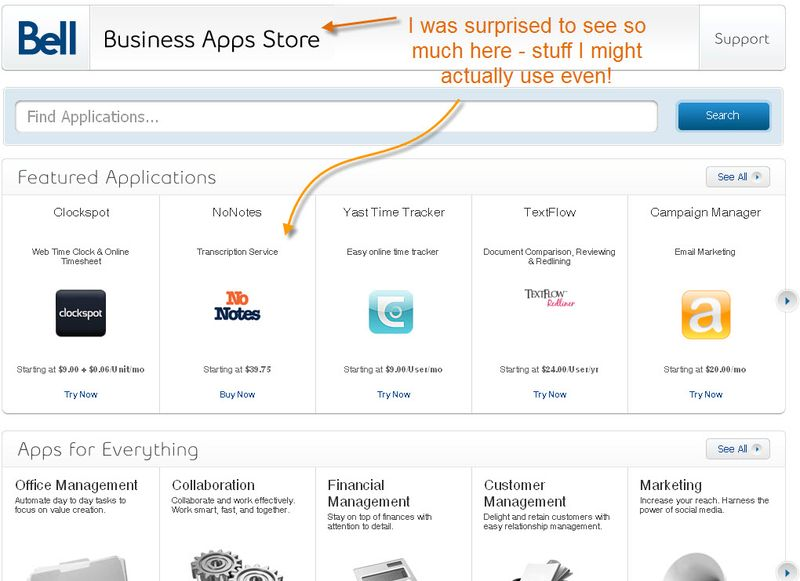 Bell-business-apps