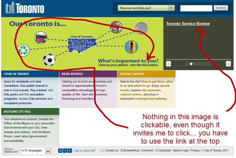 City-of-toronto-website