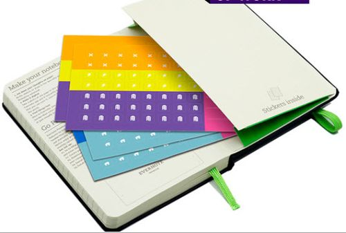 Moleskin smart notebook