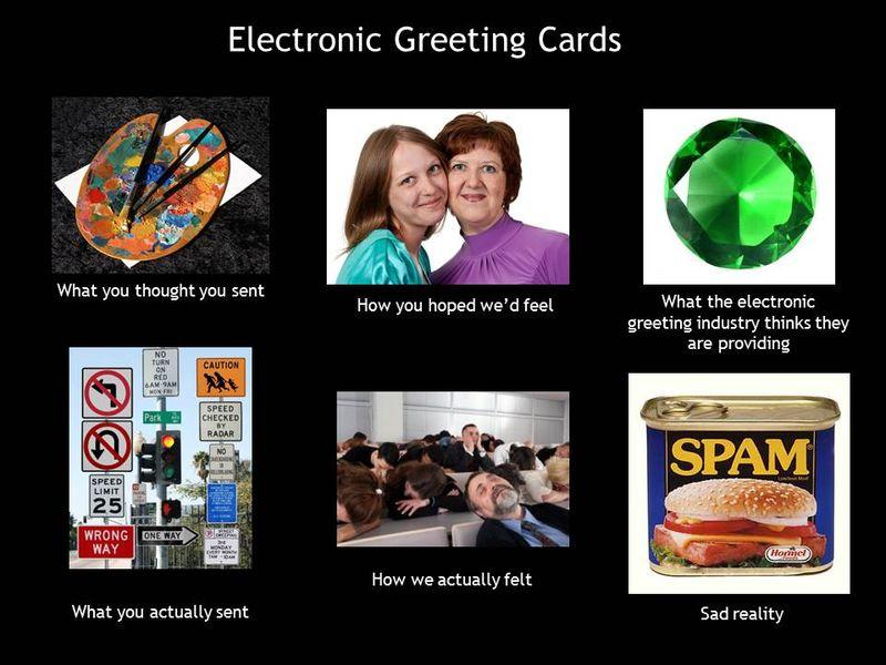 Electronic-greetings