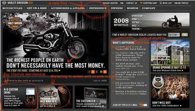 Harleywebsite