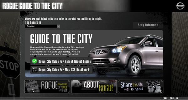 Nissanroguecityguide